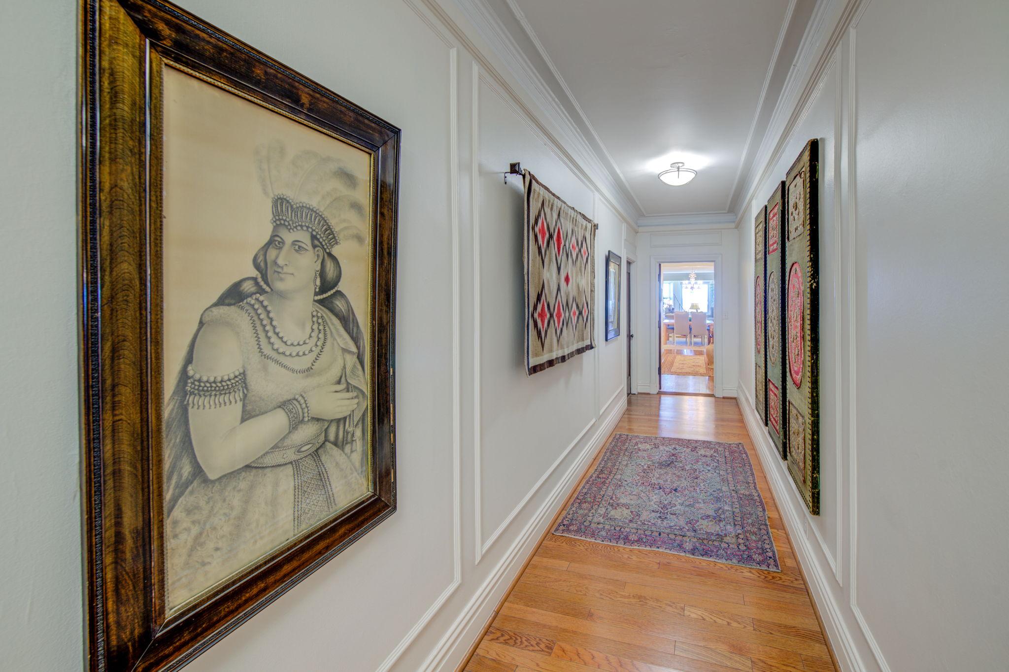 Hallway to Unit