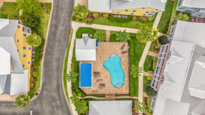 Aerial of Pool Complex