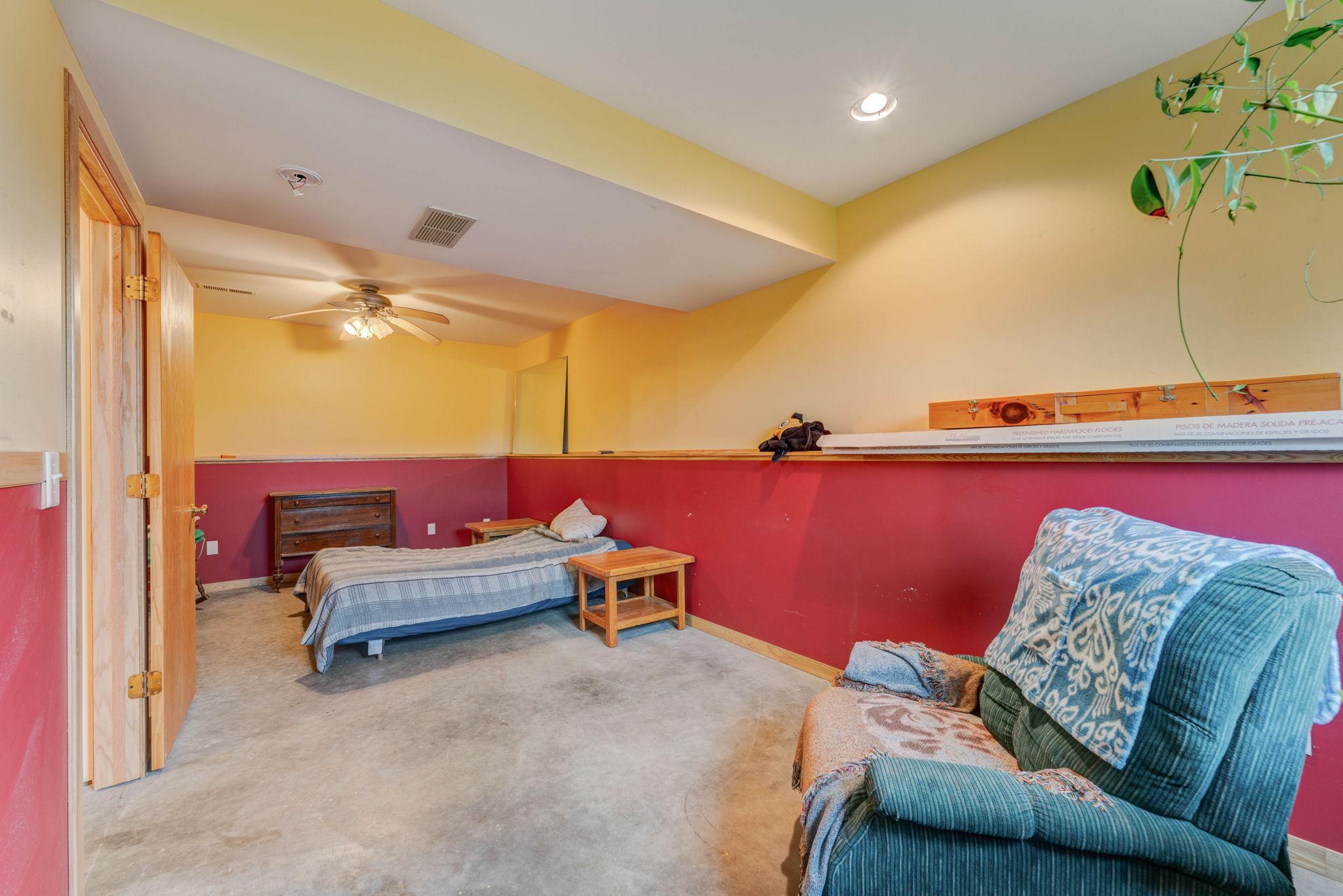 Basement- Bedroom