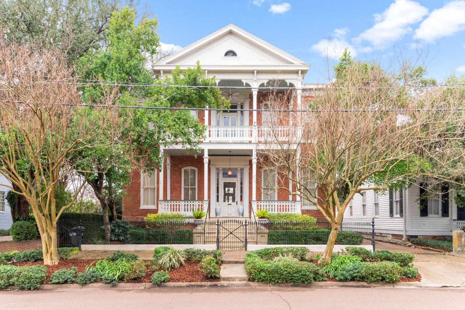 812 Main is a Classic 1880 Italianate brick home