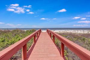 Seaside Retreat - View of Ocean from Private Beach Access Walkway