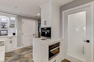 Kitchen - Custom made Pantry Door