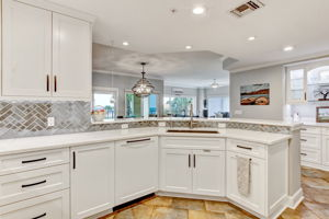 Kitchen - Overlooks Living Room