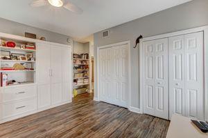Guest Bedroom #2 - Custom made bookshelf