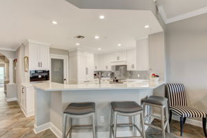 Kitchen Breakfast Bar for Extra Seating