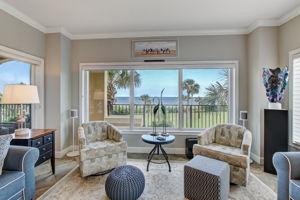 Living Room - Beautiful Ocean Views