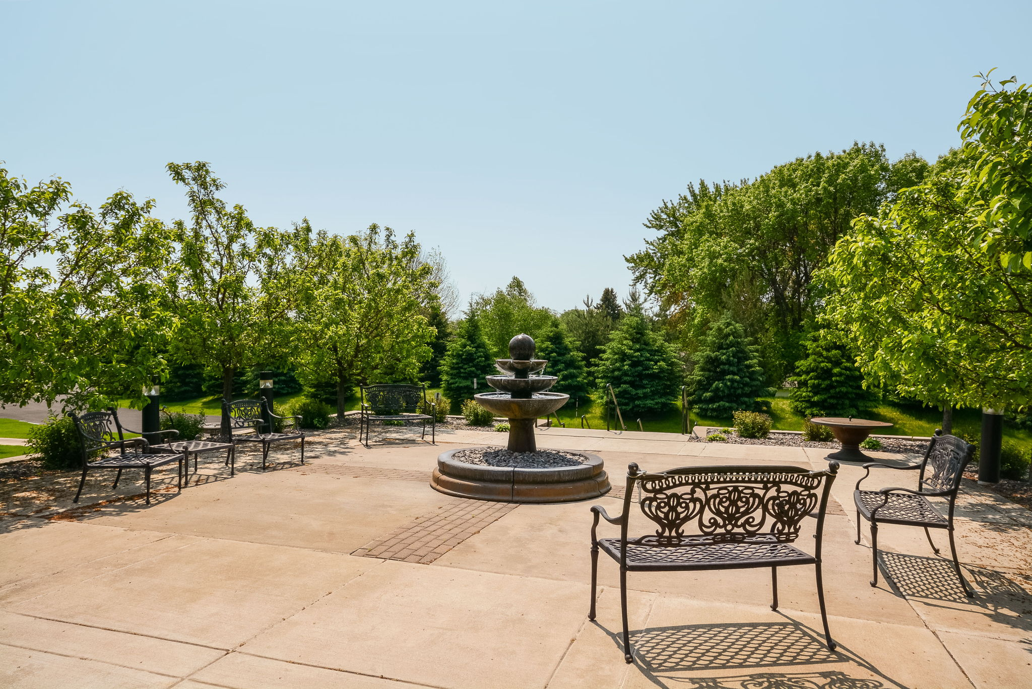 Outdoor Patio - Summer View