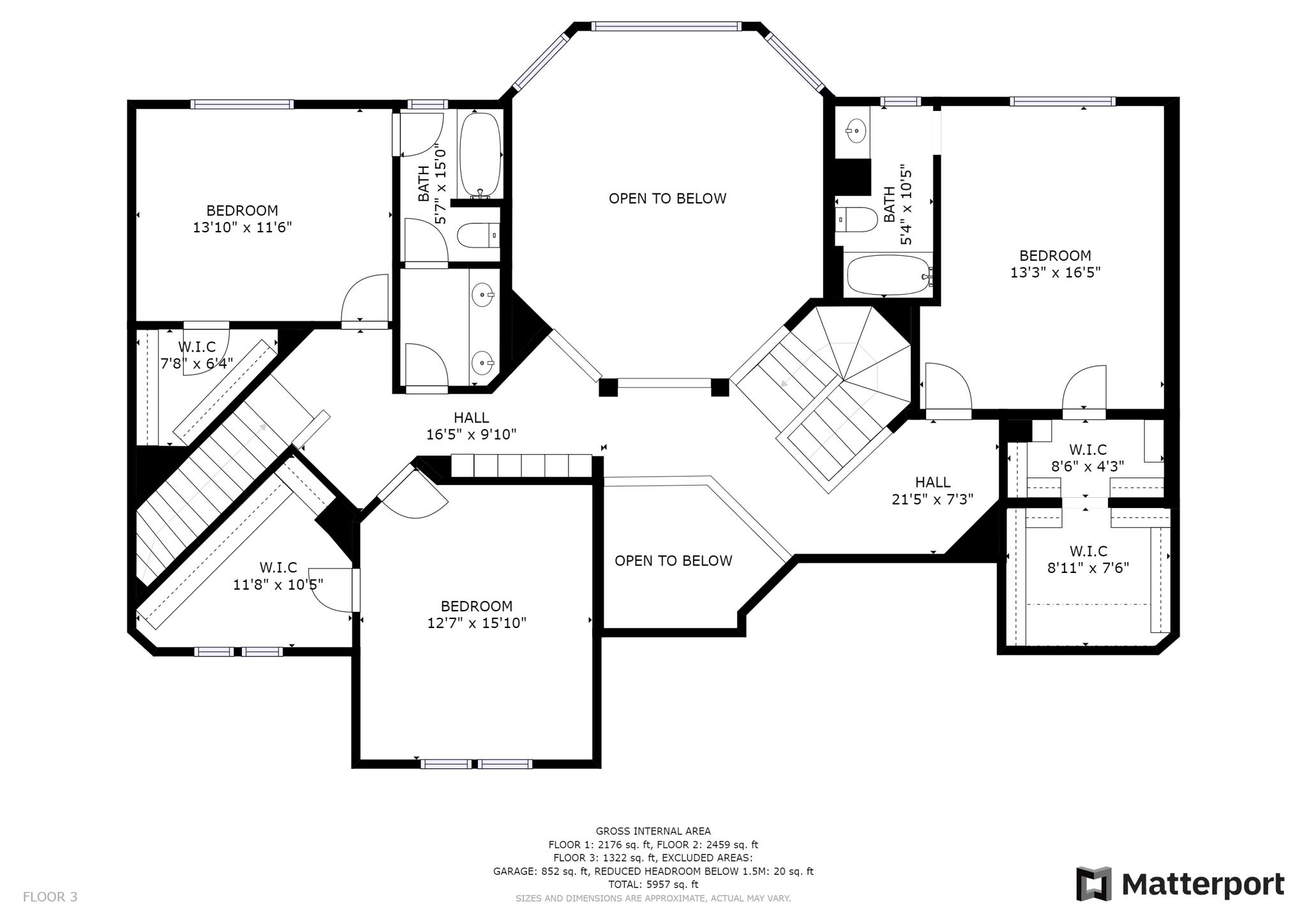 Floorplan - Upper Level