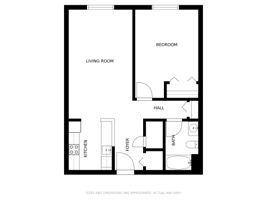 1 Bedroom Without Dimensions