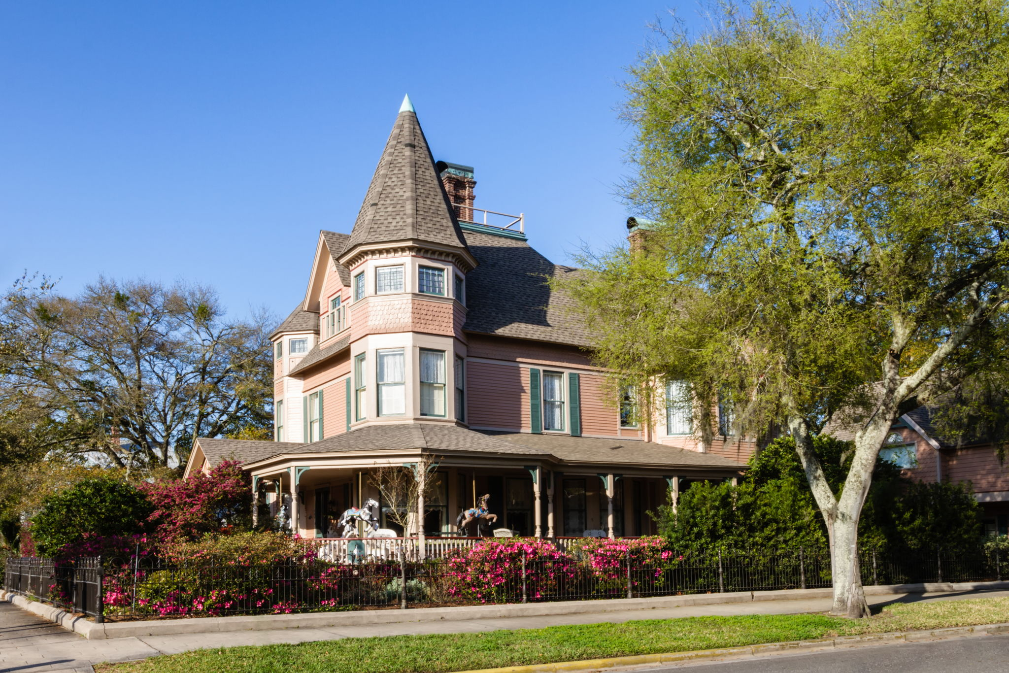 ..and explore the area's 50-plus block of beautiful historic homes