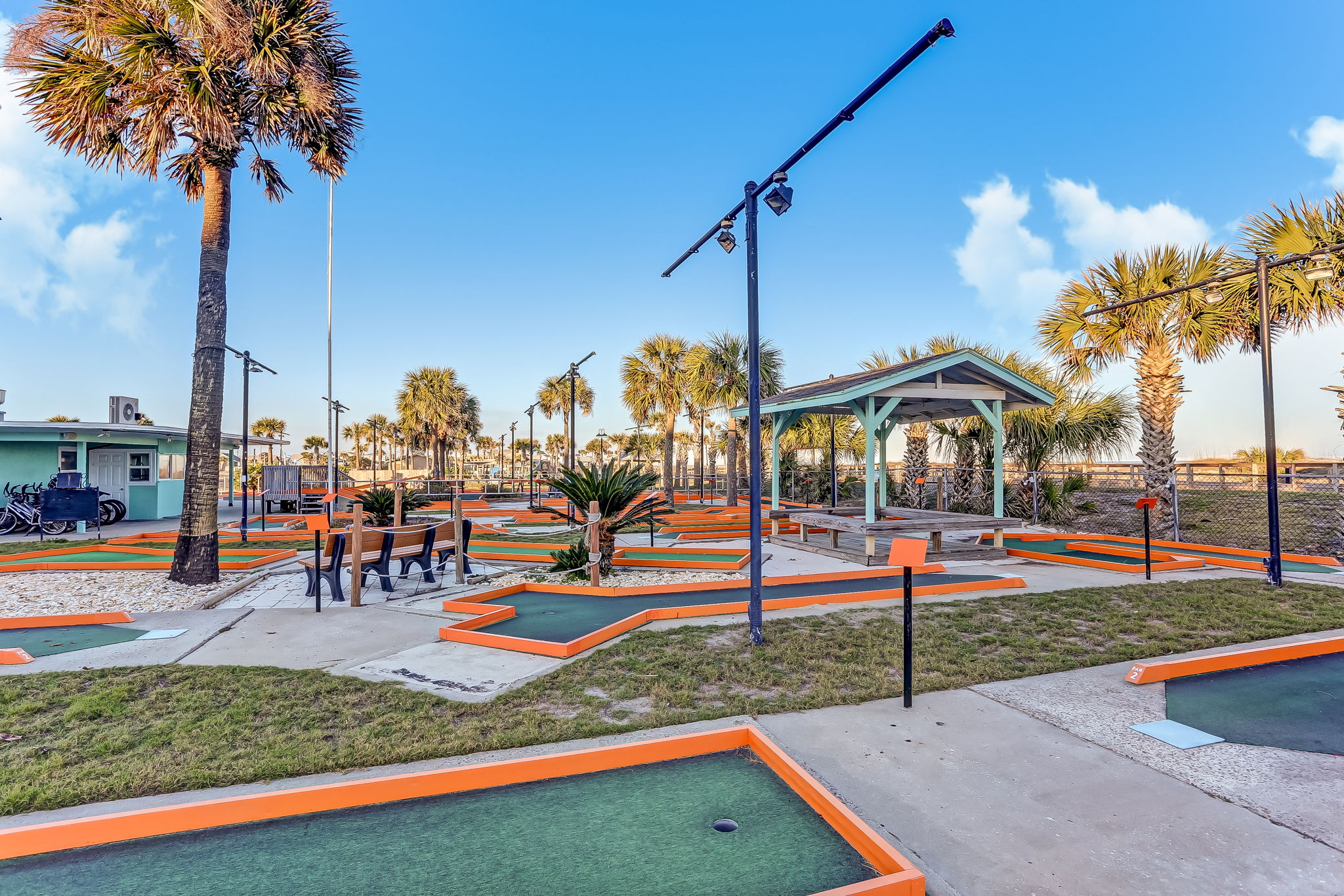 Nearby activities are endless, like Putt Putt by the beach