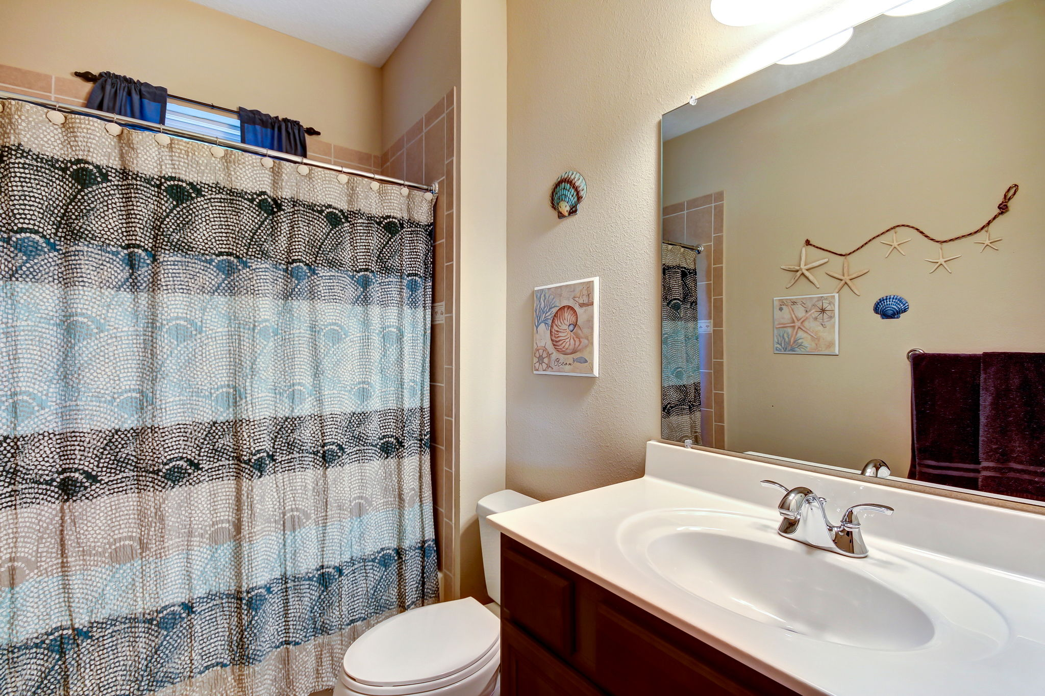 A third guest bath: a luxury not found in most townhomes or condos