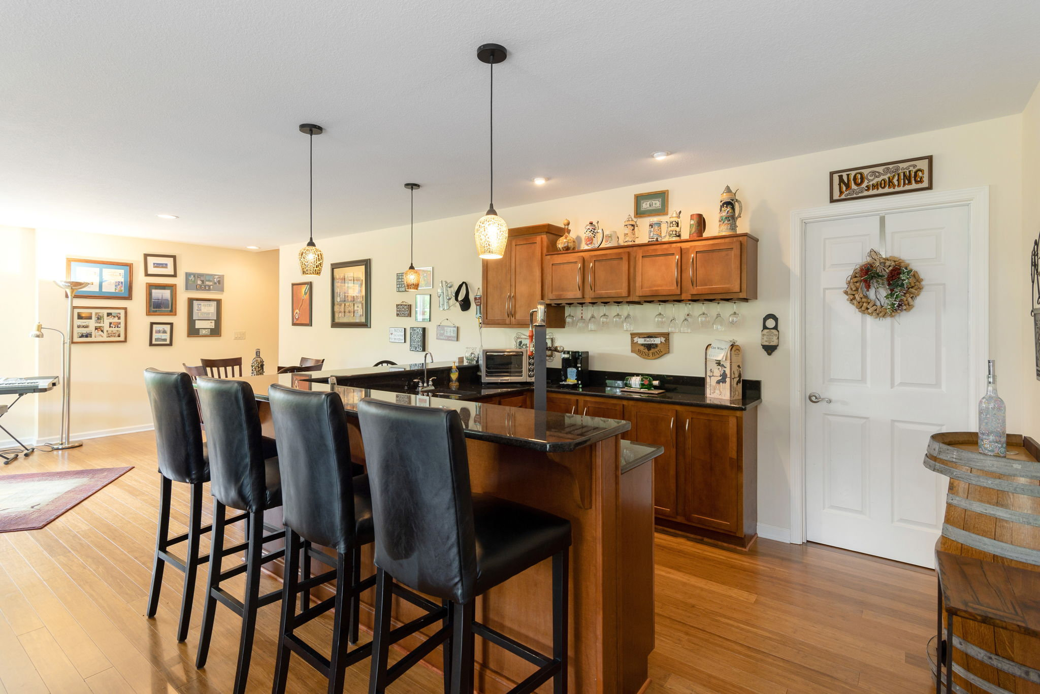 Lower Level Family Room/Kitchen