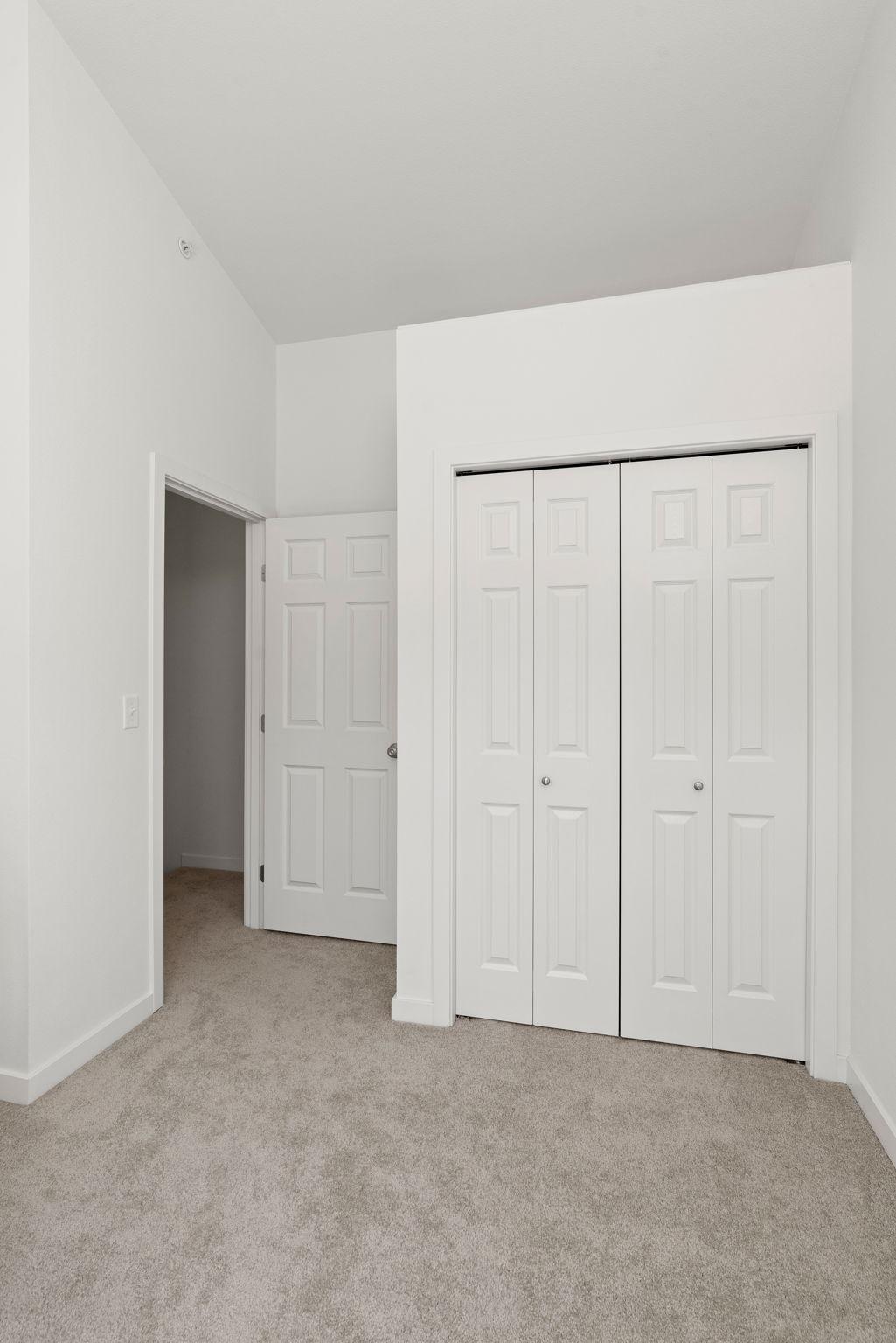 Bedroom 3 loft above closet