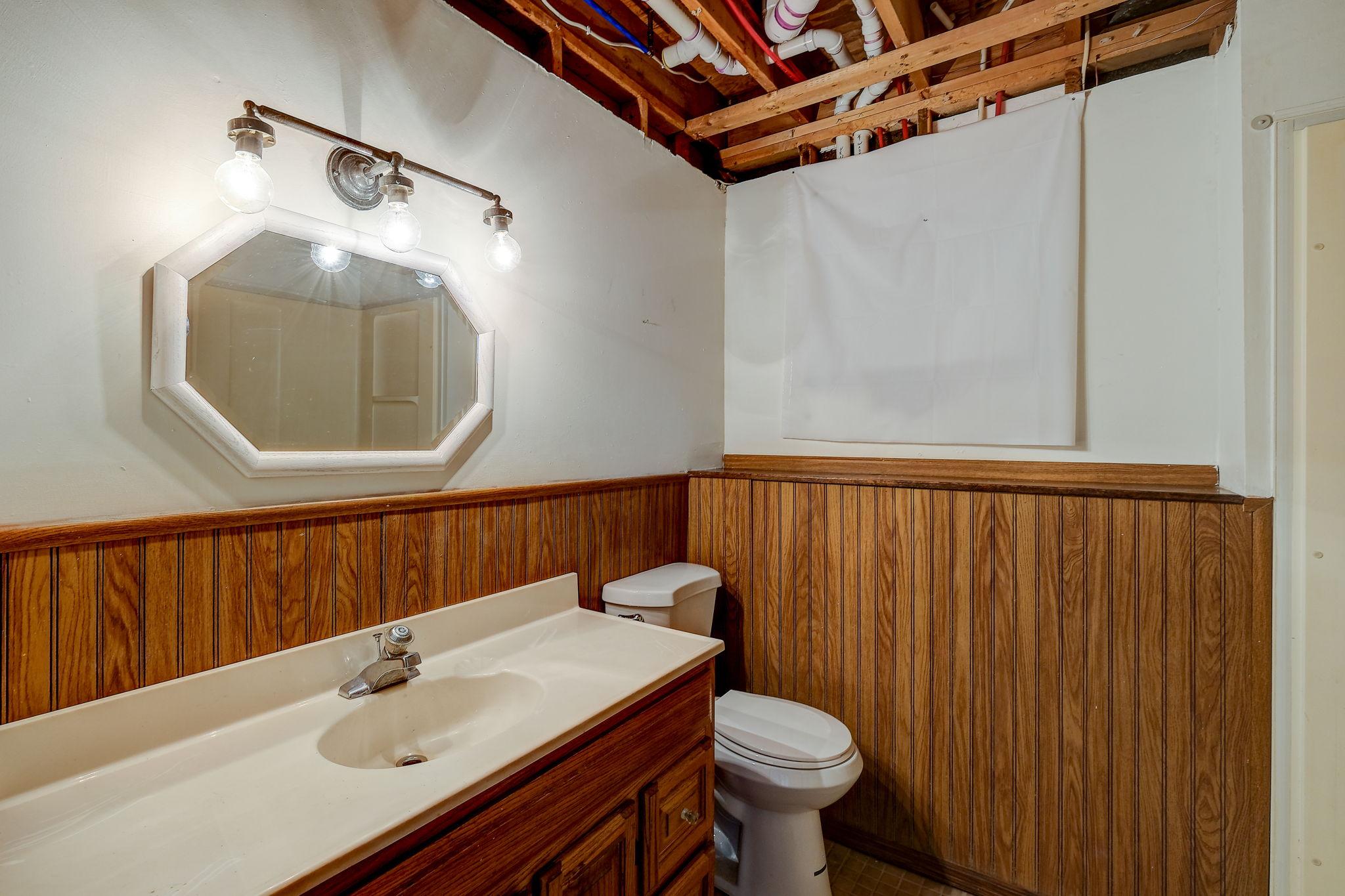 Basement- Bathroom