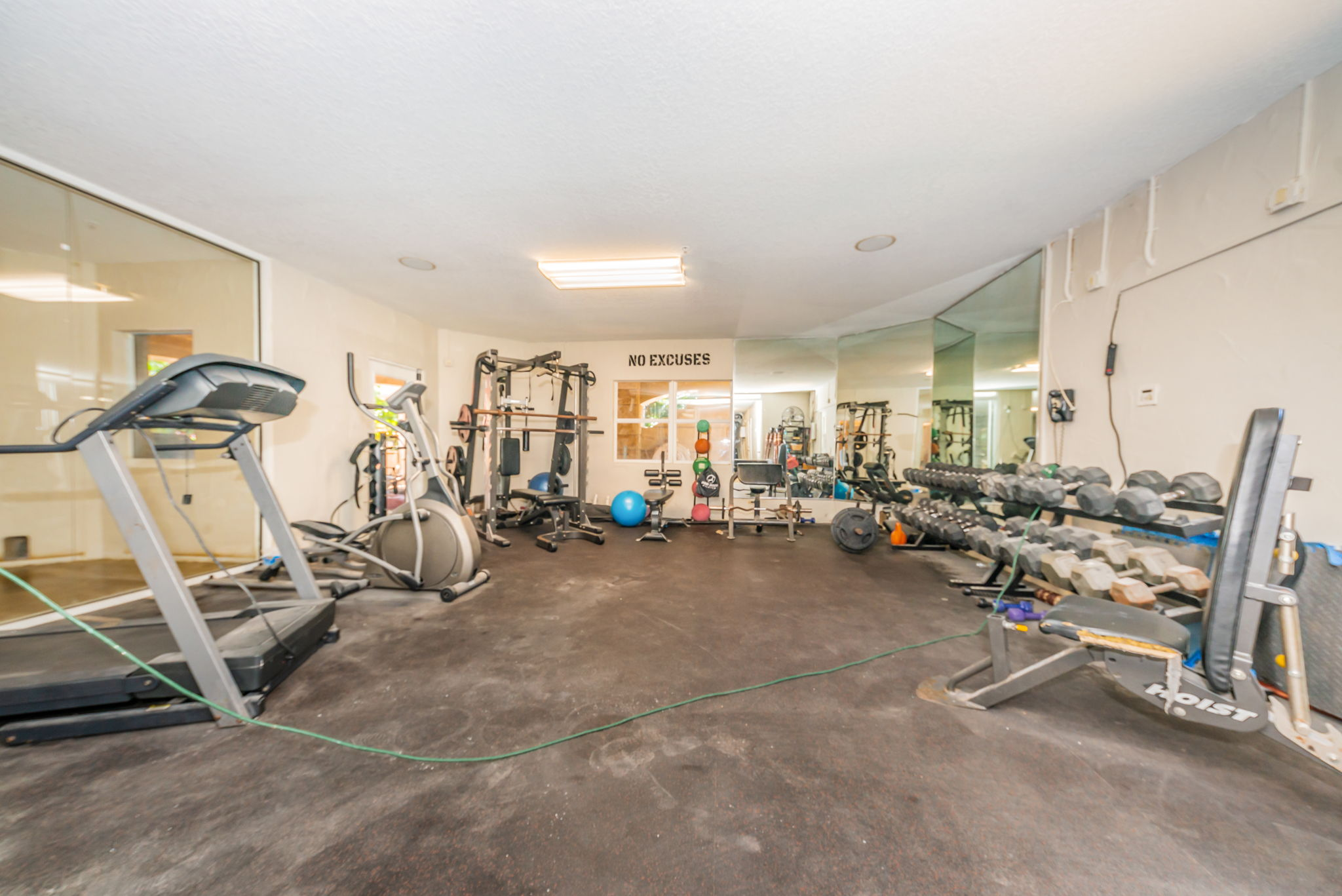 Lower Level Exercise Room1a