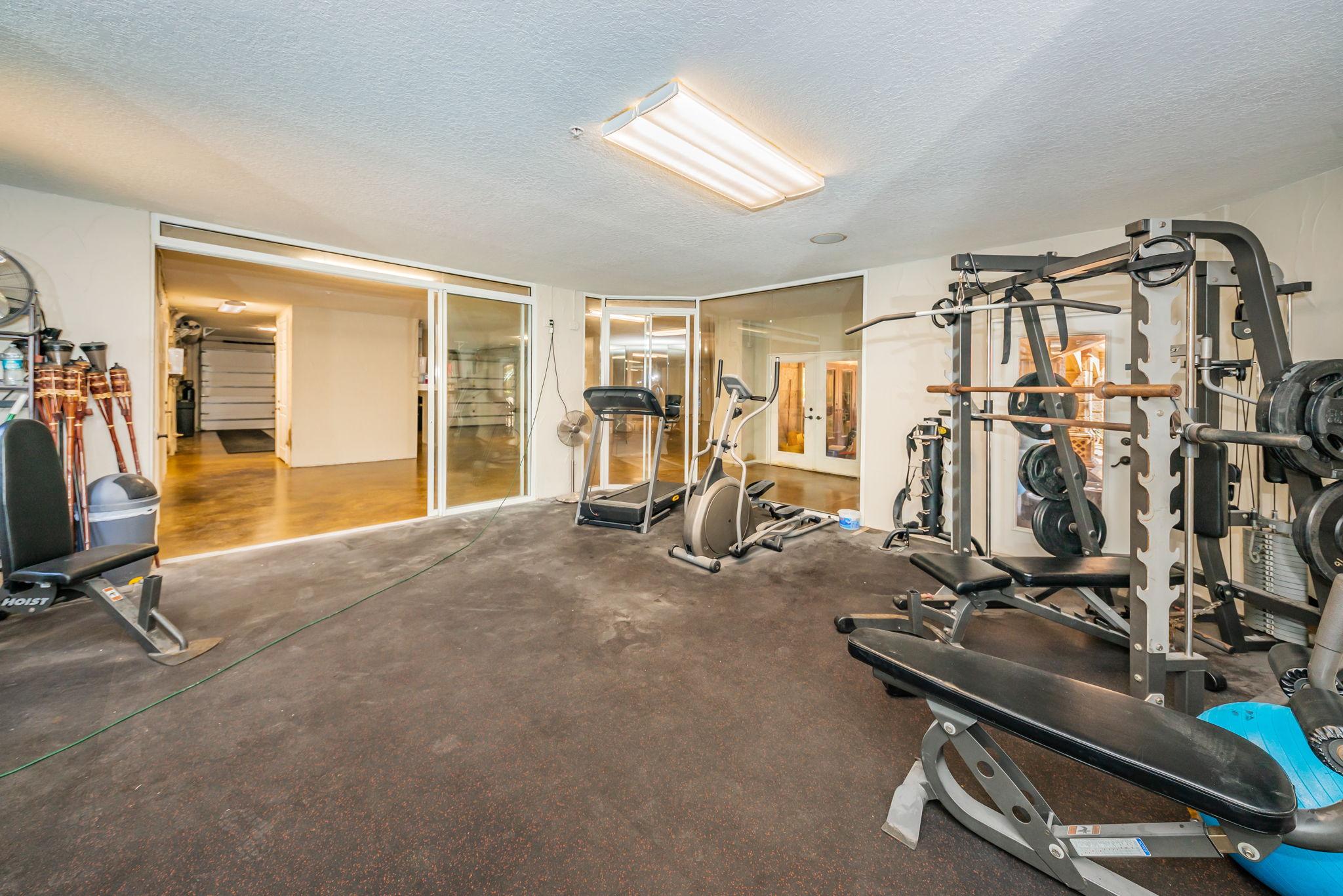 Lower Level Exercise Room1b