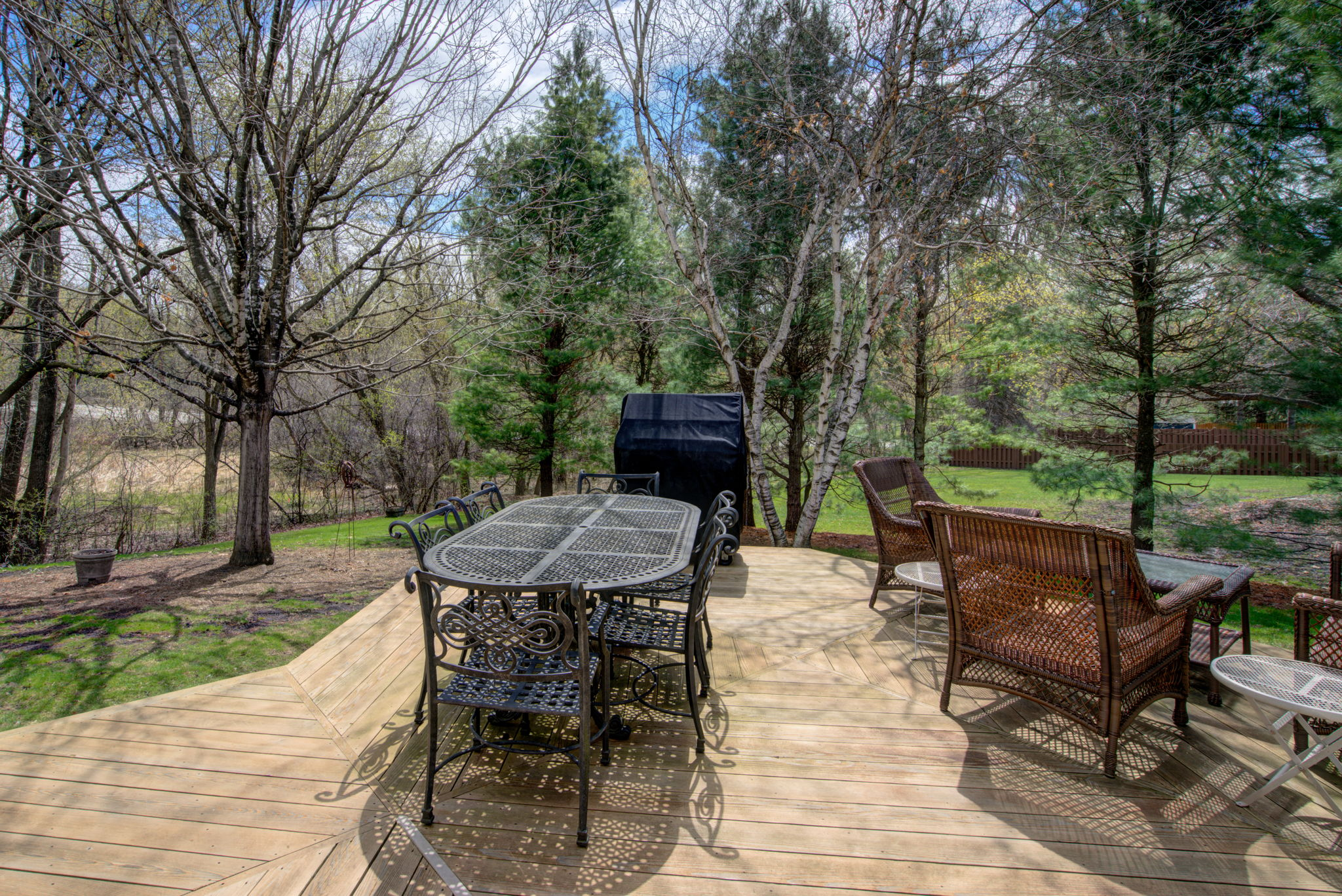 Deck Backyard