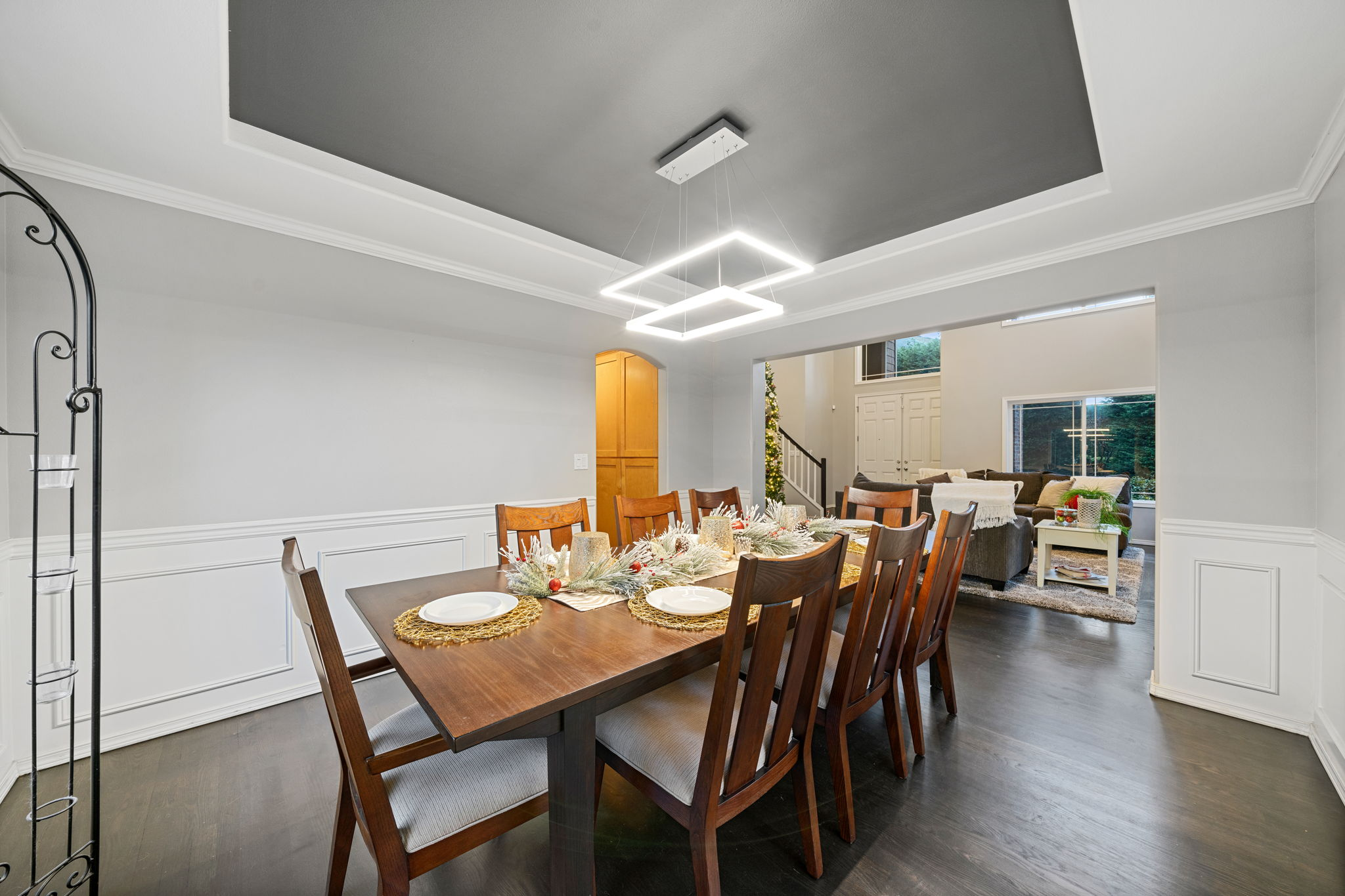 Lots of room for large dining room and entertaining!