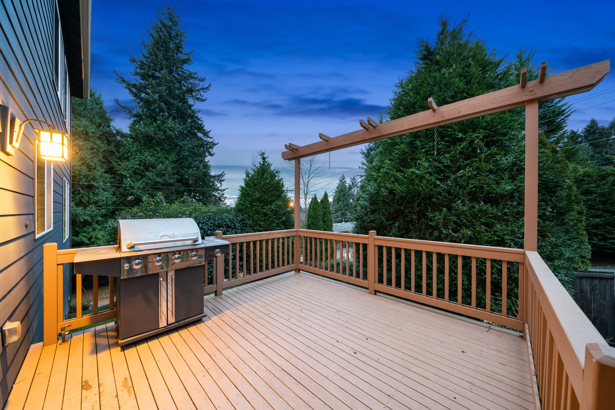 Lots of room for patio furniture and your BBQ!