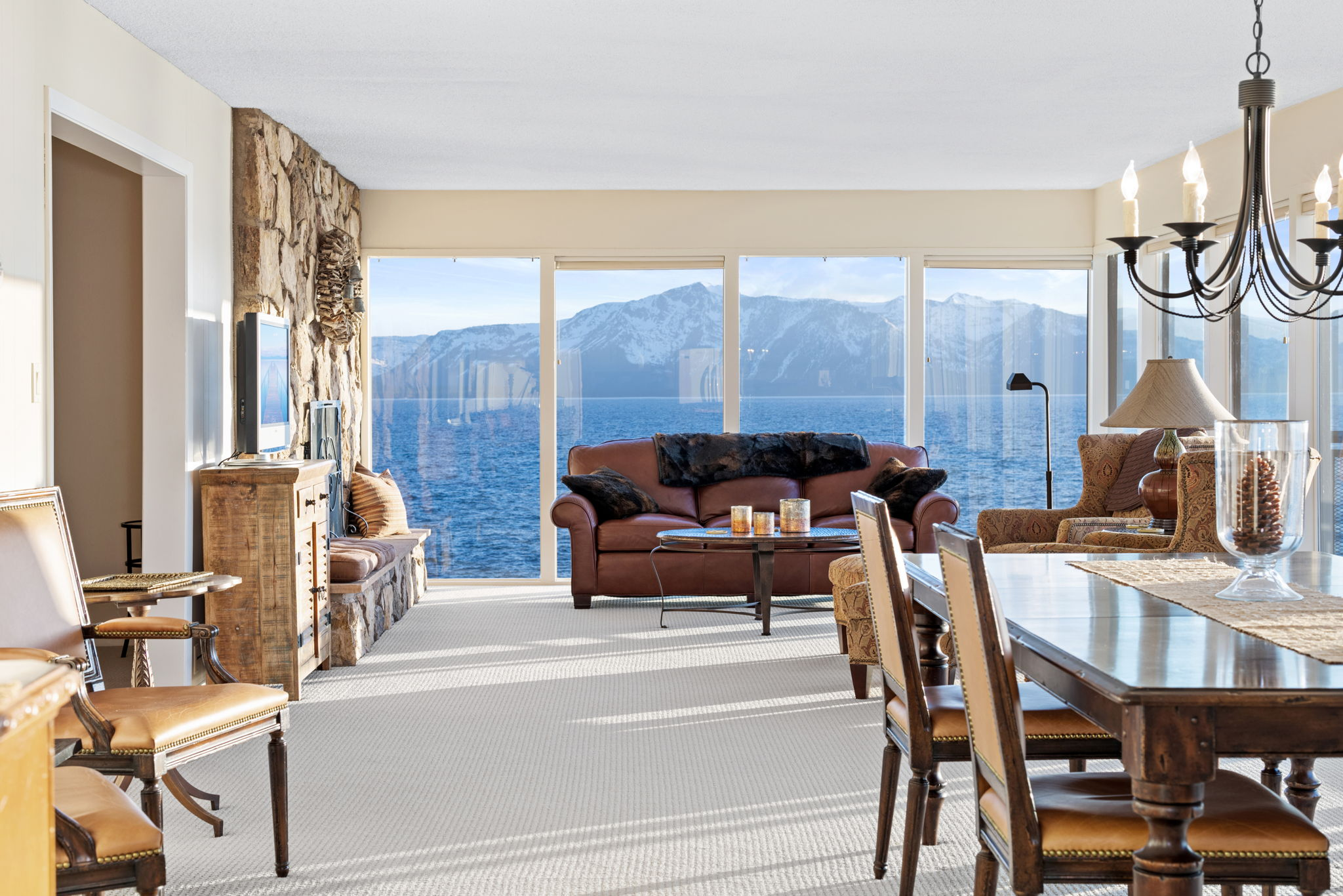 Living Room Tallac View