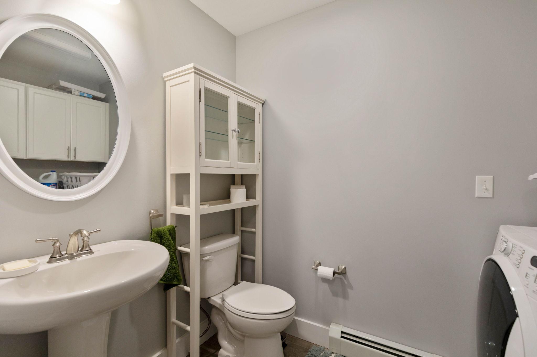 Downstairs Bath/Laundry 2