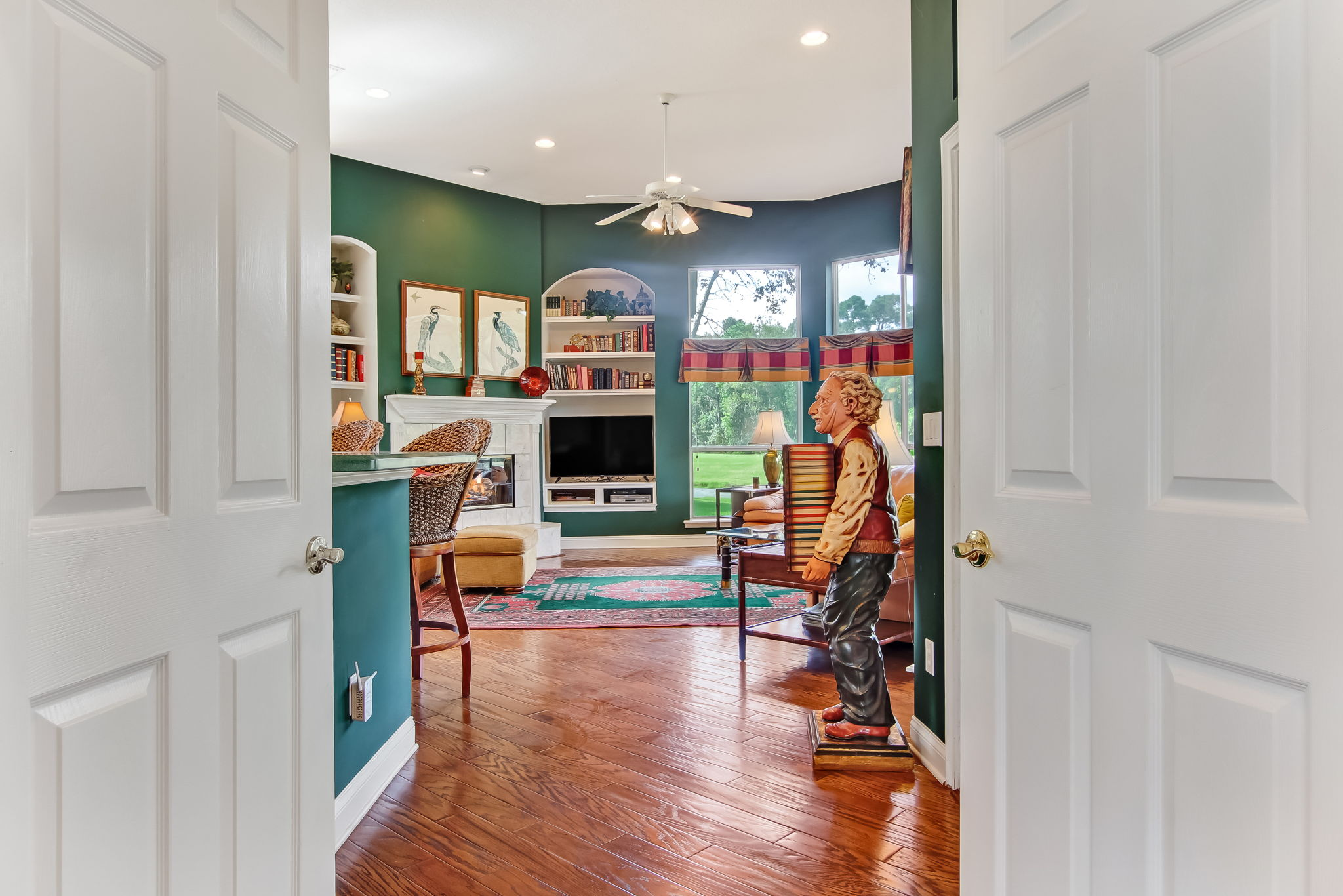 To Family Room