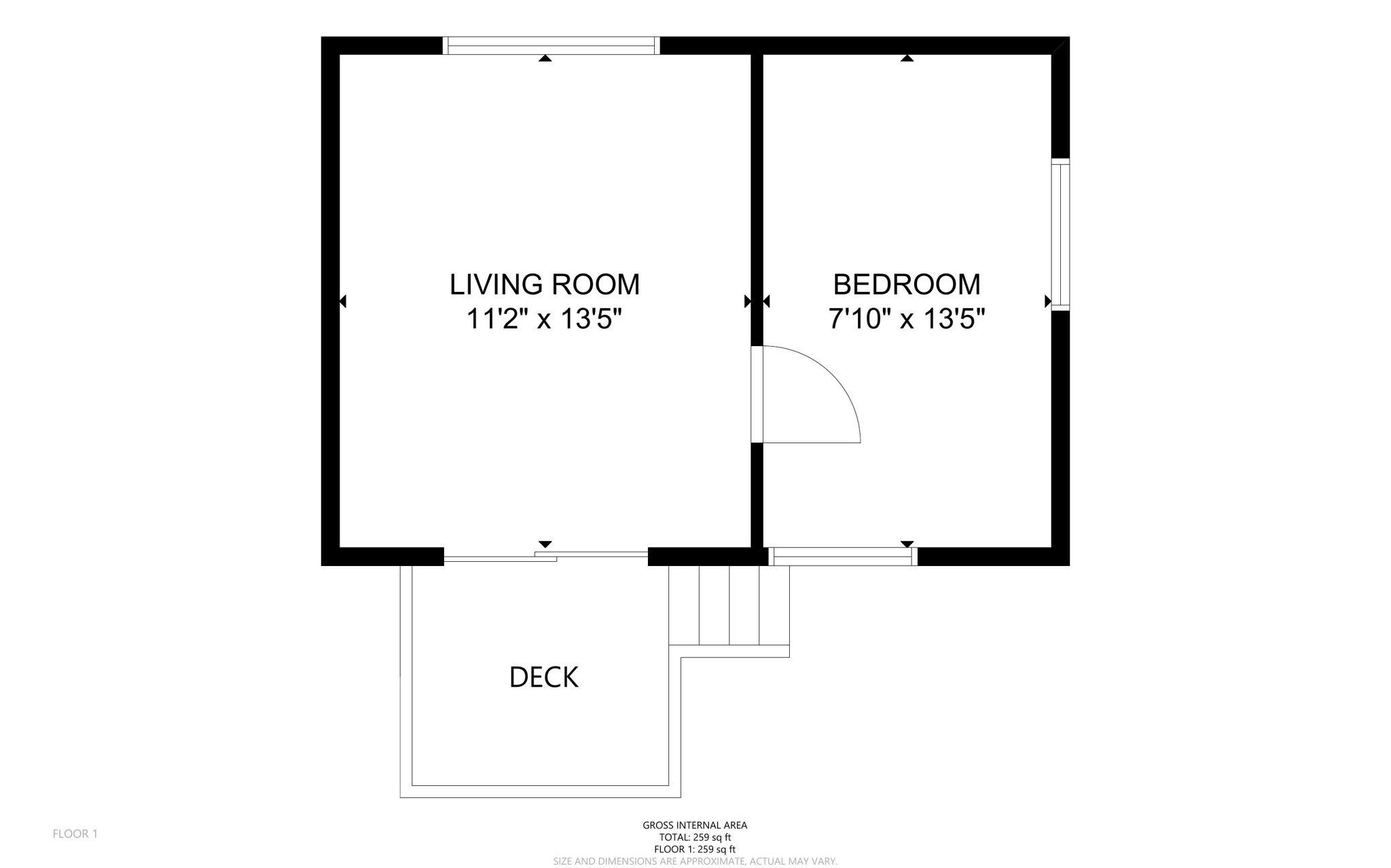 Bunkie Floor Plans