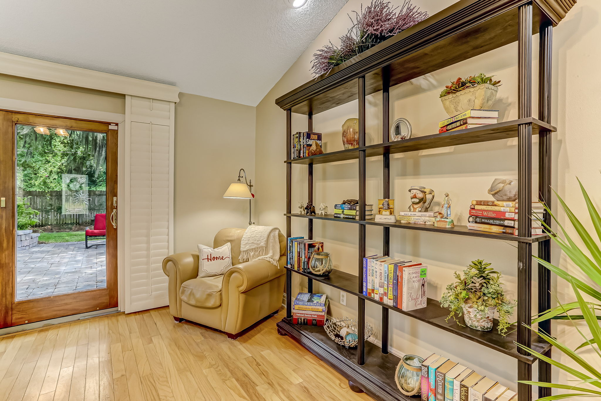 Ample space for multiple seating vignettes