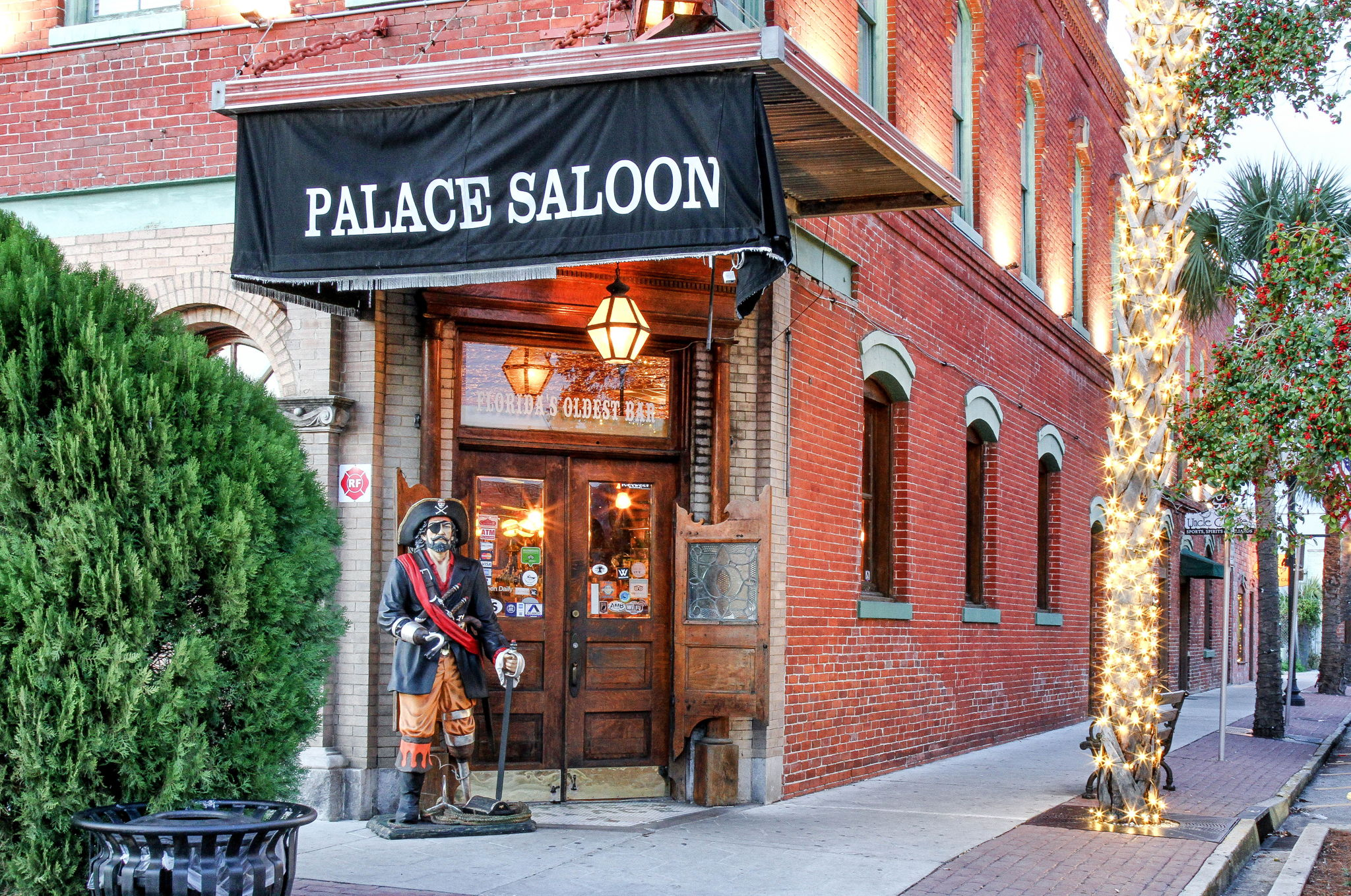 Visit Amelia's interesting landmarks, like home to the oldest saloon in Florida