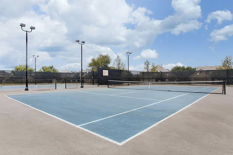 Tennis courts at Pearson Place amenity center