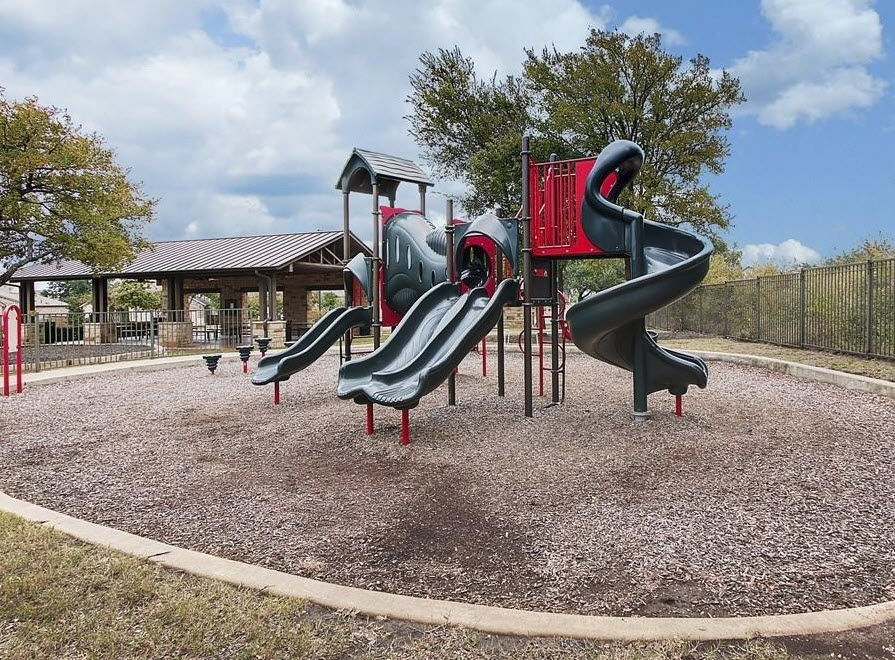 Playscape at Pearson Place amenity center