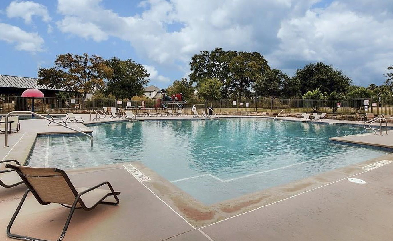 Pool at Pearson Place amenity center