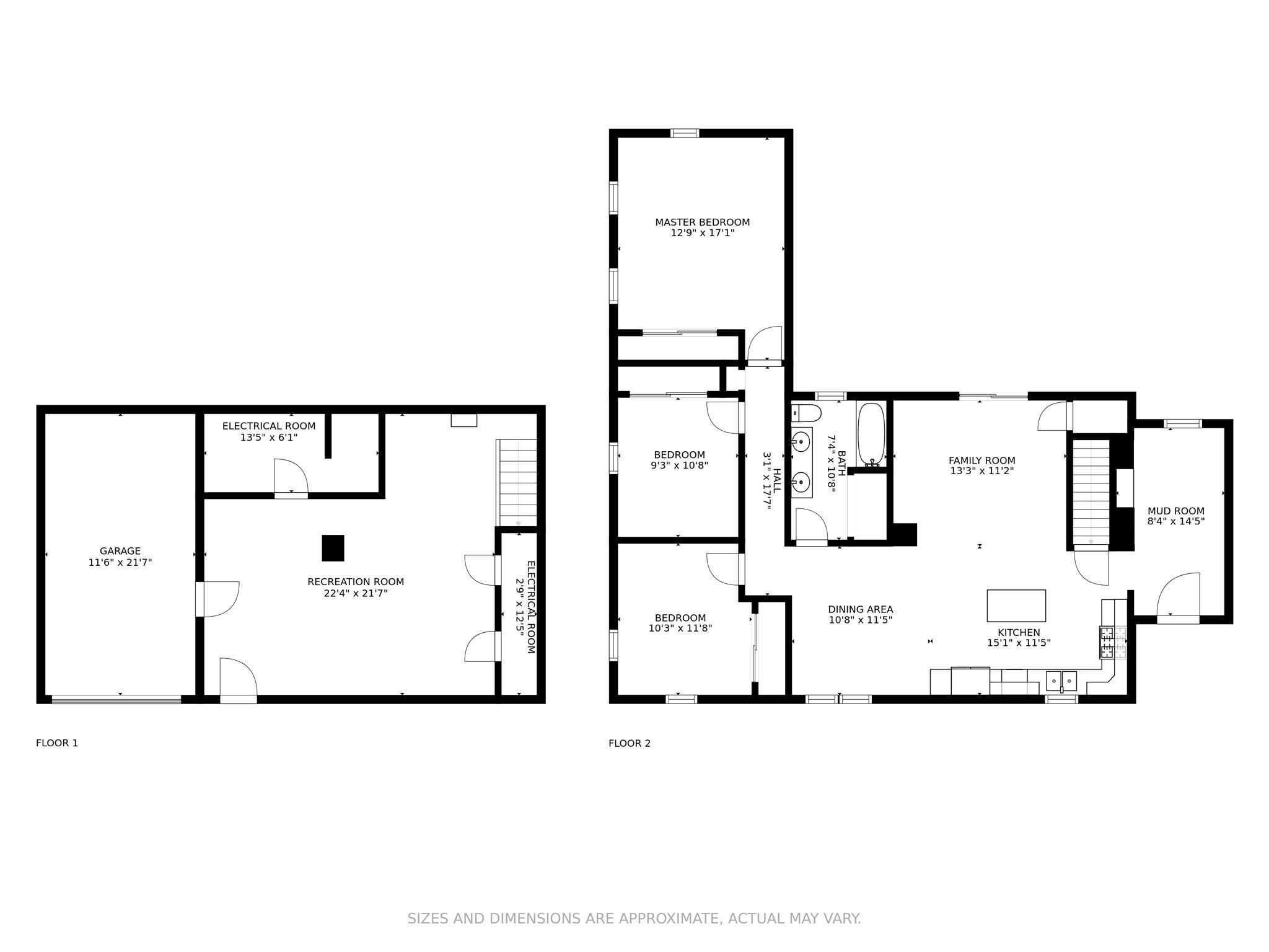All-In-One Dimensions - 4 Prescott Rd
