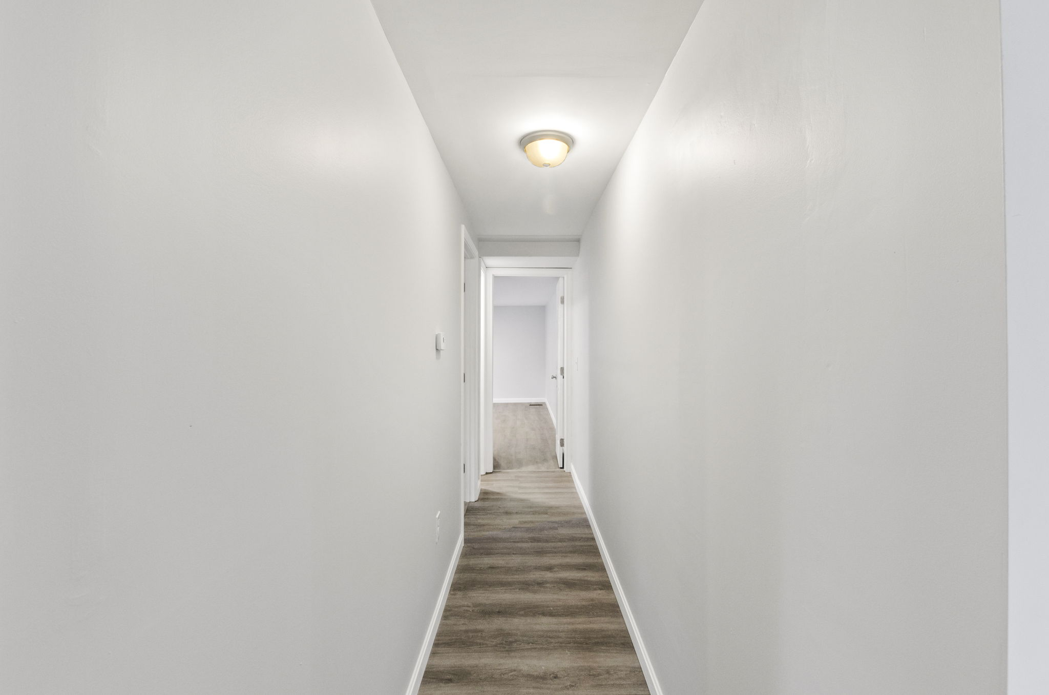 Hallway Dining Area to Master BR