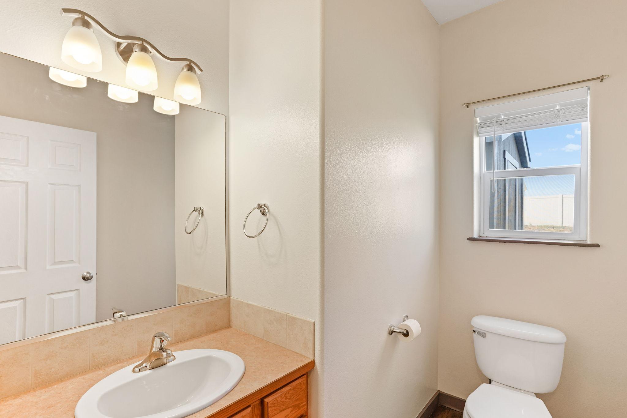 Main Floor Half Bathroom