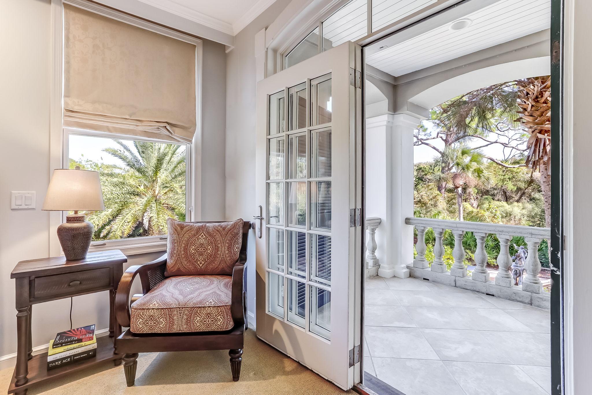 Bedroom to Porch
