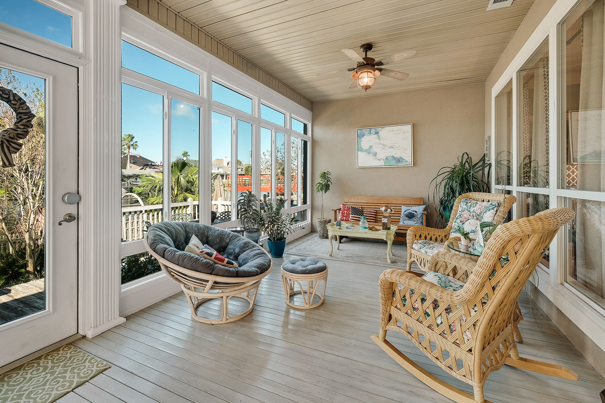 Superior Sunroom w/Water View