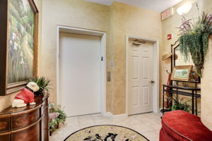 Front Foyer with elevator