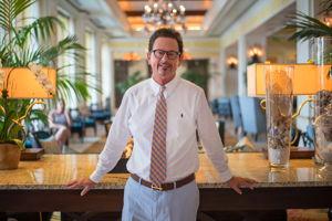 Dimitri Presenting the Grand Bellagio Resort at Baywatch