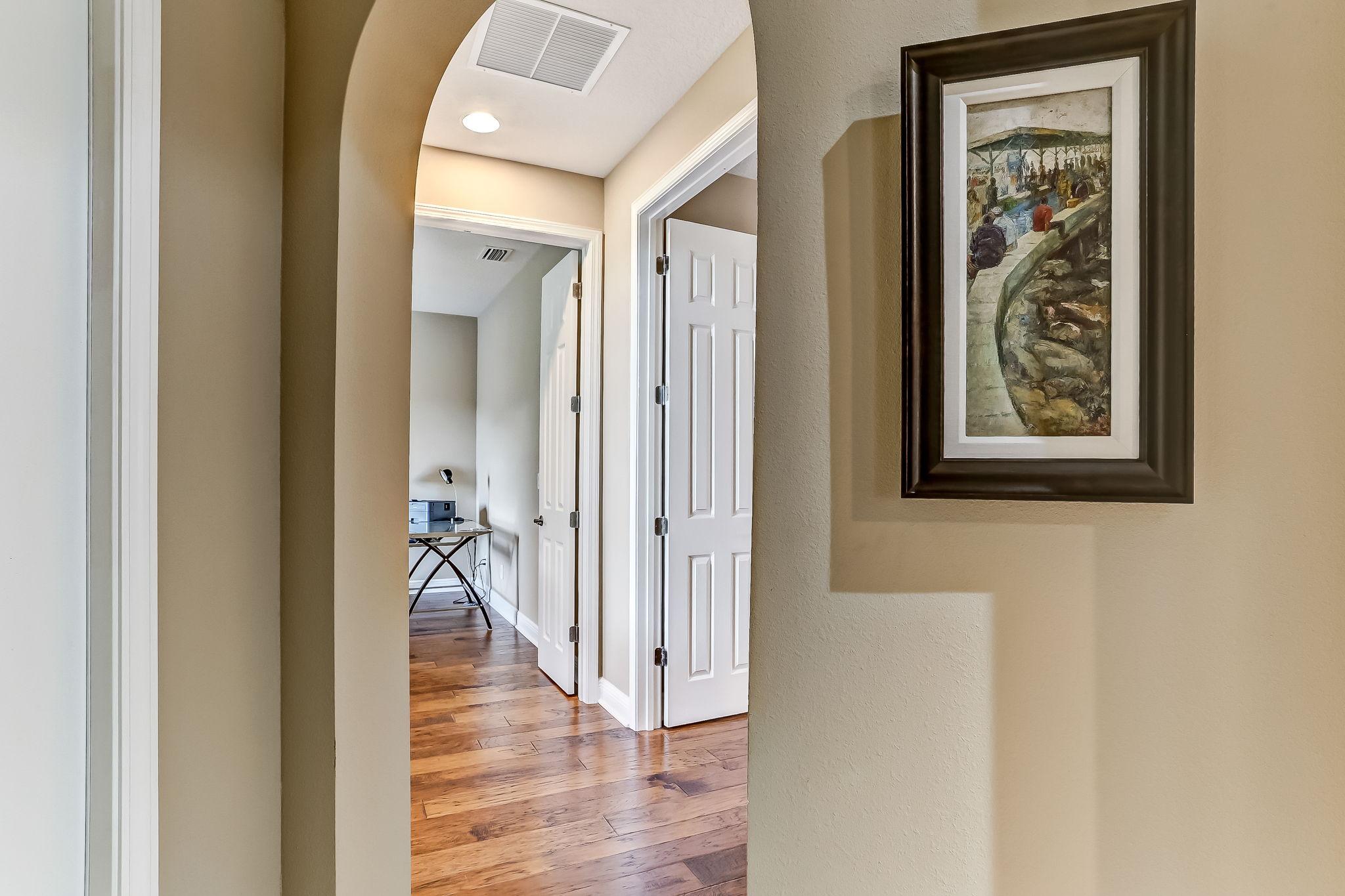Primary Bedroom Hallway