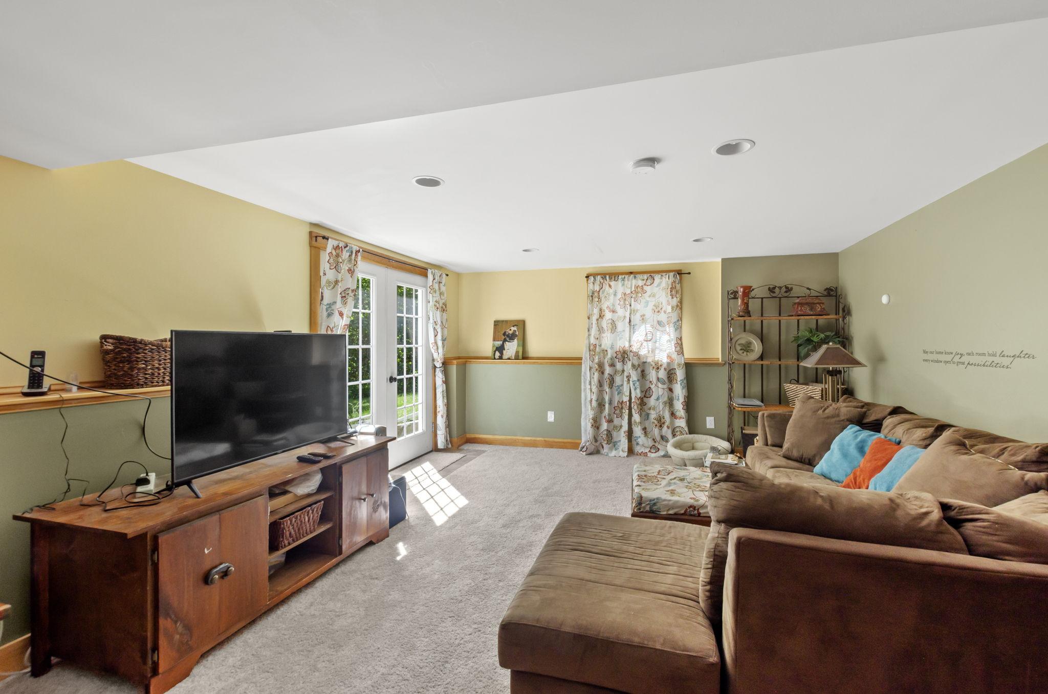 Basement Family Room (1)