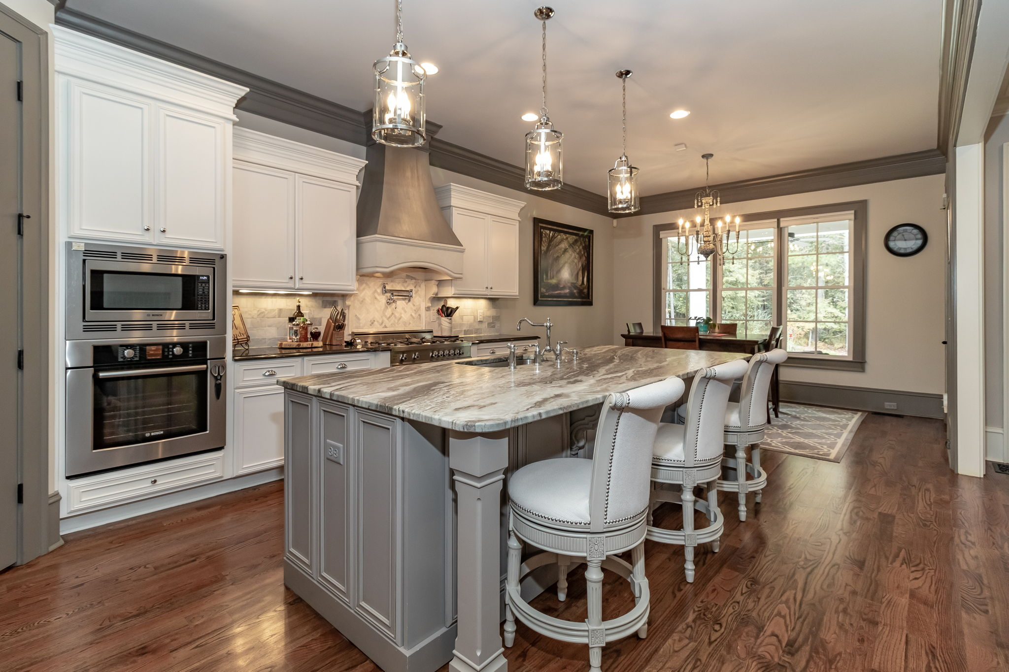 Kitchen - Hardwood Flooring