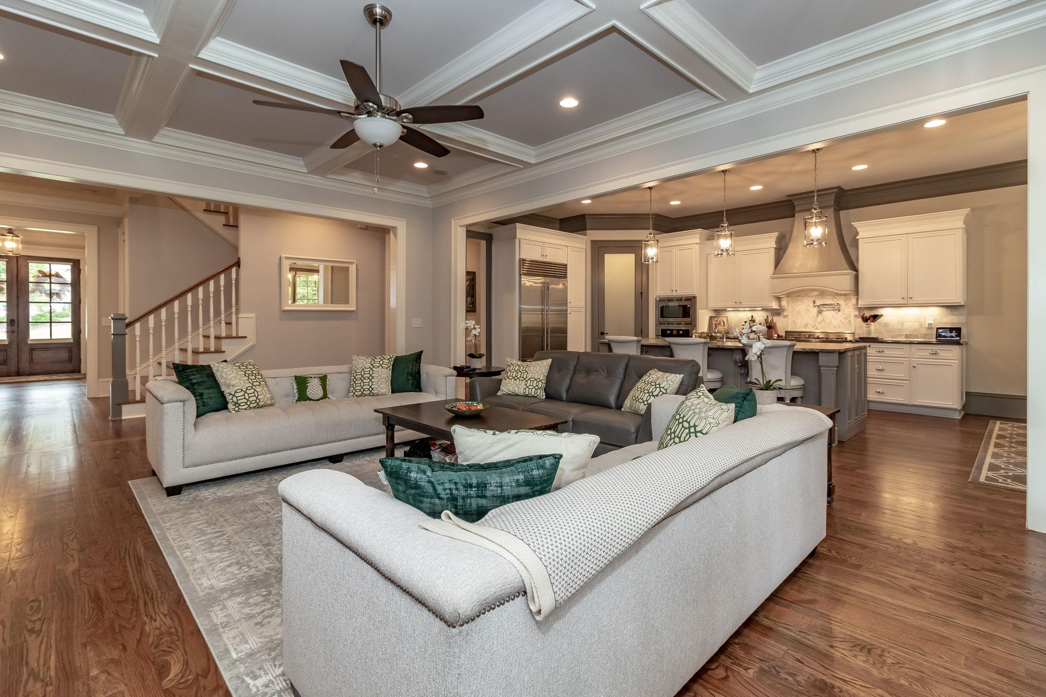 Great Room - Open Living Floor Plan