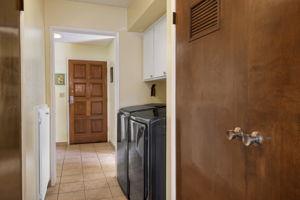 Hallway with Laundry